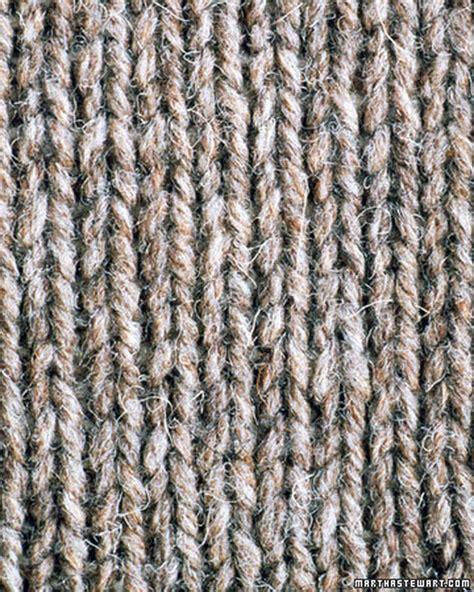 knitting stitches beginners basic scarf pattern martha stewart