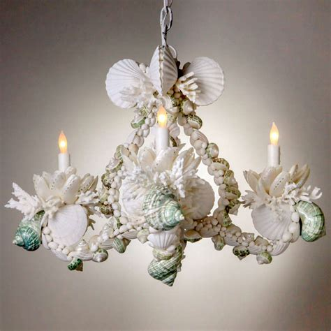 seashell chandelier shell chandelier for sale at 1stdibs