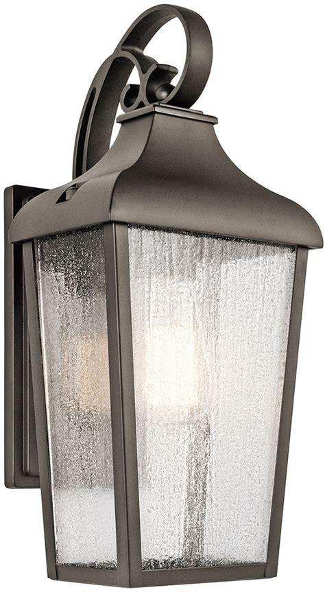 kichler exterior lighting kichler 49735oz forestdale olde bronze exterior lighting