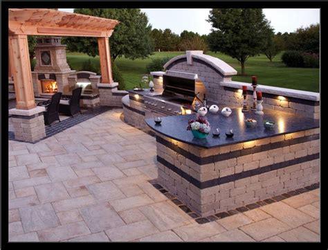 backyard and grill backyard barbecue design ideas thompson