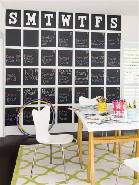 chalkboard paint ideas for home 32 smart chalkboard home office d 233 cor ideas digsdigs