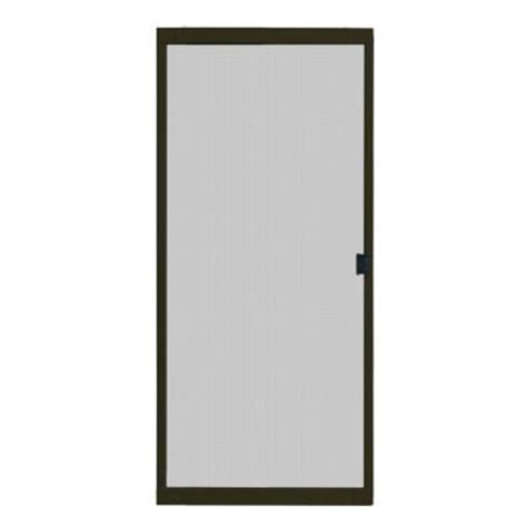 patio door screens home depot unique home designs 36 in x 80 in standard bronze metal