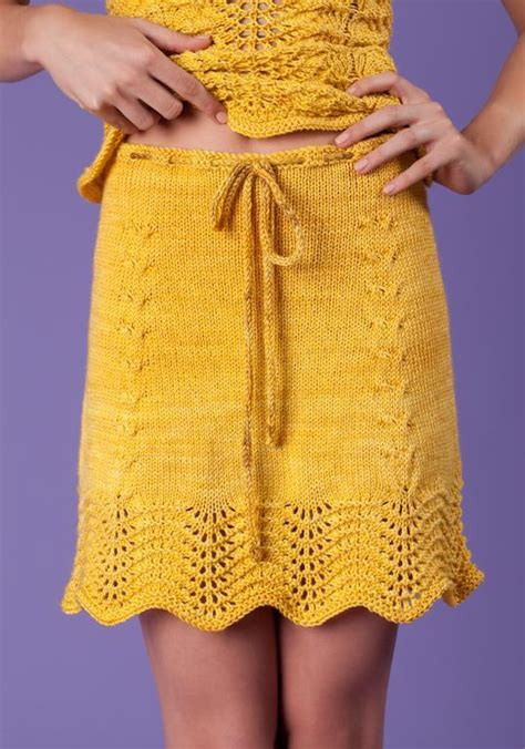 how to wear a knit skirt sunflowers skirt by armyofknitters knitting pattern