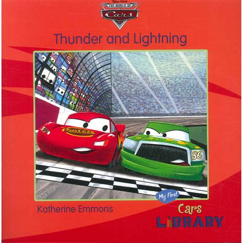 books about cars and how they work 2010 toyota tacoma electronic valve timing disney pixar cars thunder and lightning by kathrine emmons disney books at the works