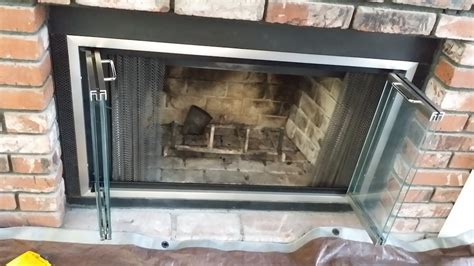 fireplace screen with glass doors 21 modern fireplace glass doors design to beautify your home