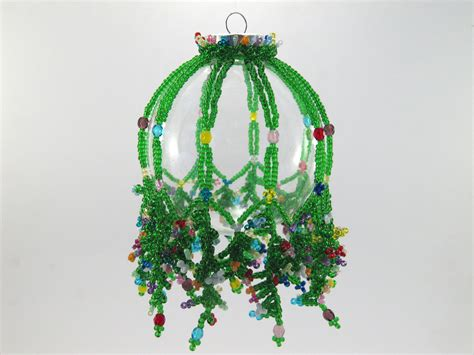 free beaded ornament patterns beaded ornament cover patterns