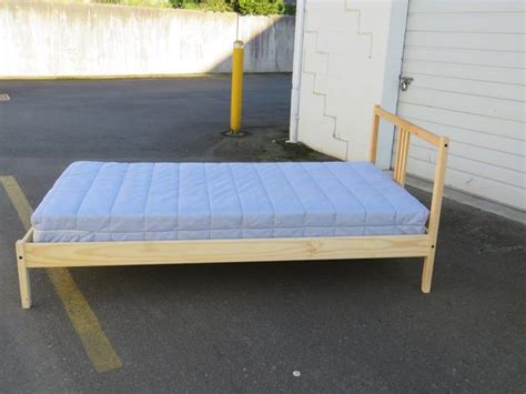 fjellse bed frame ikea fjellse bed frame and mattress central saanich