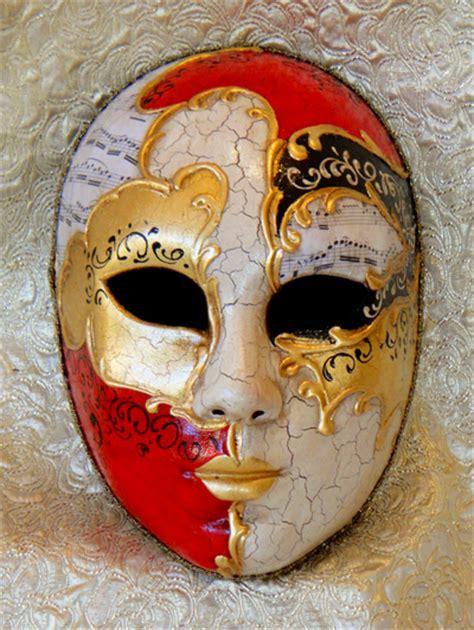 decoupage mask vivaldi size mask painted italian