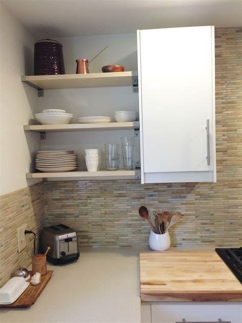 kitchen corner shelves ideas the pros and cons of open shelving in the kitchen