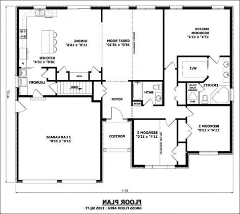floor plans without formal dining rooms house plan no formal dining room floor plan without