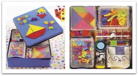 craft stuff for felt creations sticky travel play tin to make