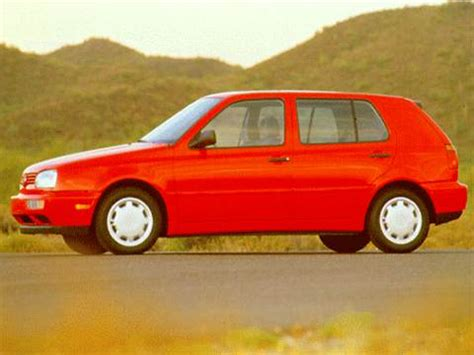Volkswagen Golf 1996 by 1996 Volkswagen Golf Pricing Ratings Reviews Kelley