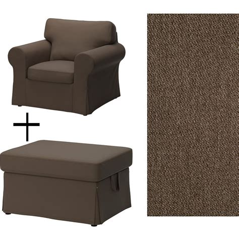 ikea ottoman cover ikea ektorp armchair and footstool covers slipcovers