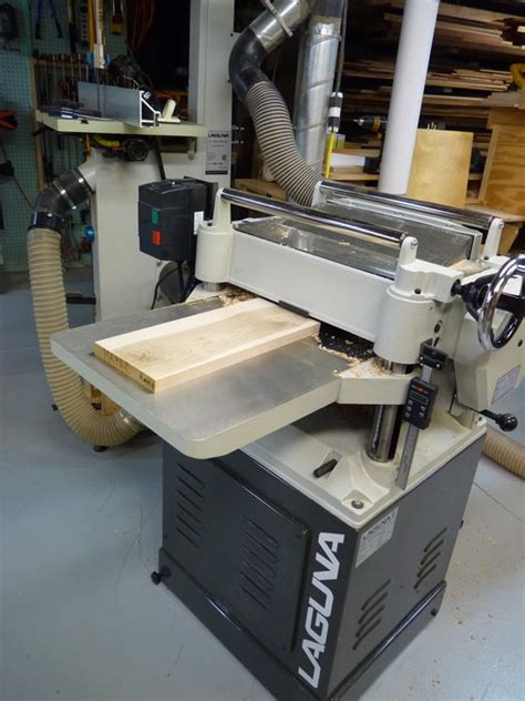 woodworking planer reviews review laguna 16 quot planer delivers by deeppocket