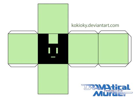 paper cube craft usagimodoki p cube papercraft noiz ver 4 by kokioky on