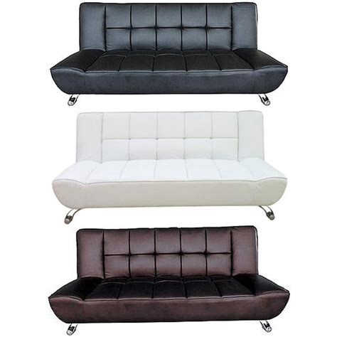 white leather sofa bed sale white sofa bed leather duke white faux leather sofa bed