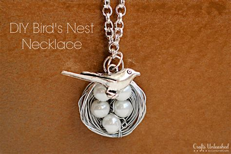 get paid to make jewelry at home bird necklace tutorial make a wire wrapped nest charm