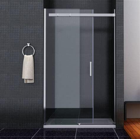 Folding Glass Bath Shower Screen shower enclosure walk in sliding glass door cubicle screen