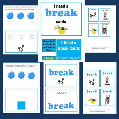 card needs autism classroom august 2014