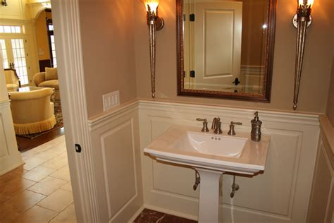 Wainscoting Bathroom Ideas by Custom Wainscoting Bathroom Picture Ideas