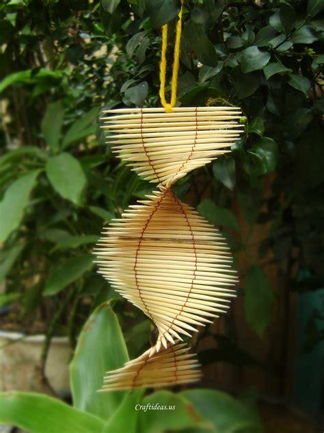 unique crafts unique summer gifts toothpicks mobile tutorial craft ideas