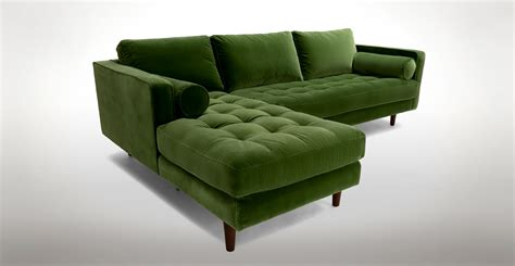 green sectional sofa furniture modern and contemporary sofa sectionals for