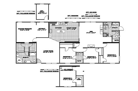 clayton manufactured home floor plans manufactured home floor plan 2007 clayton lakeshore