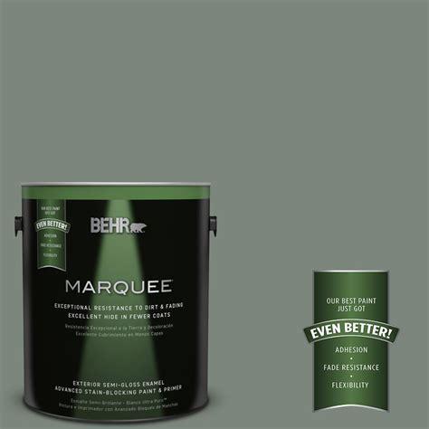 behr paint colors green exterior behr marquee 1 gal n410 5 green semi gloss
