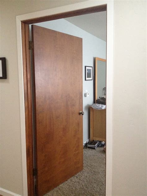 how to replace interior door interior doors paint white or replace with white panel door