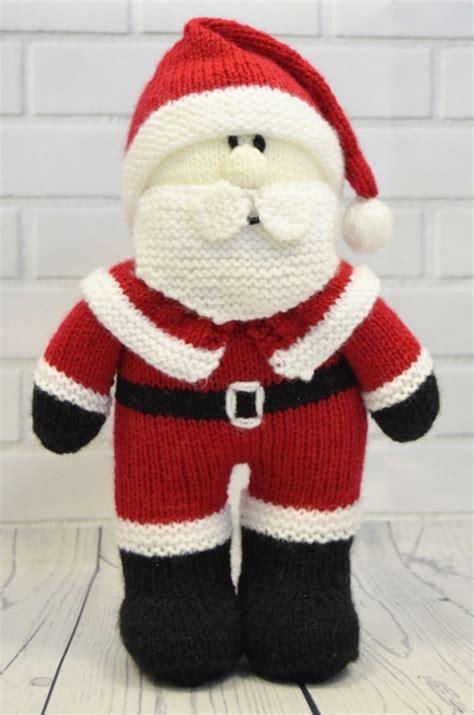 knitting store santa festive friends santa knitting pattern knitting by post