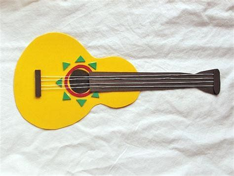 paper guitar craft paper guitar craft cincodemayo holidays for
