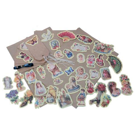 decoupage set decoupage gift wrap set geel postpapier enzo