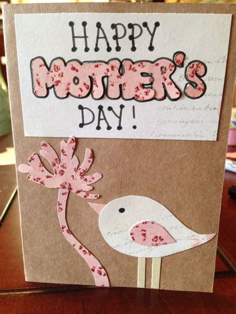 make mothers day card