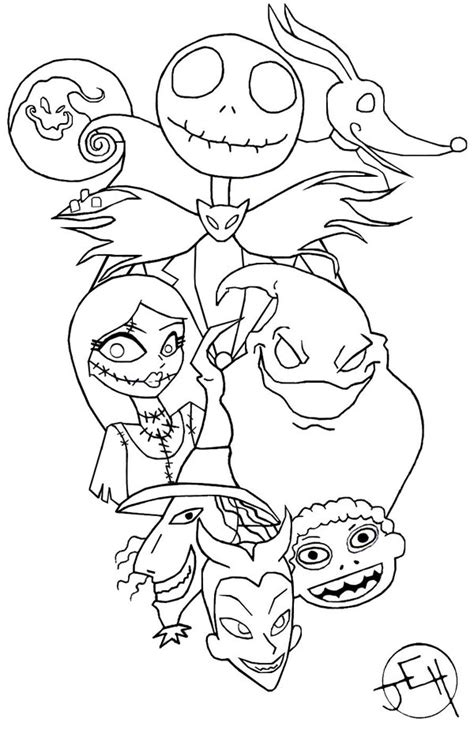 tim burton coloring pages free printable coloring pages