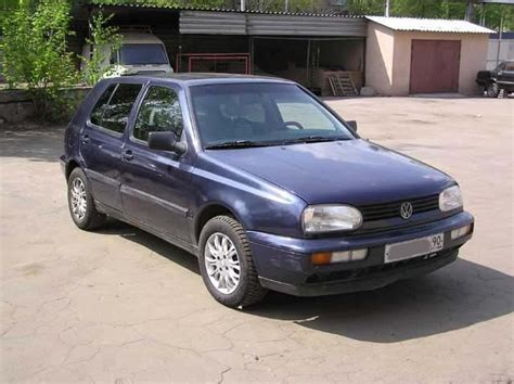 Volkswagen Golf 1996 by 1996 Volkswagen Golf 3 Pictures For Sale