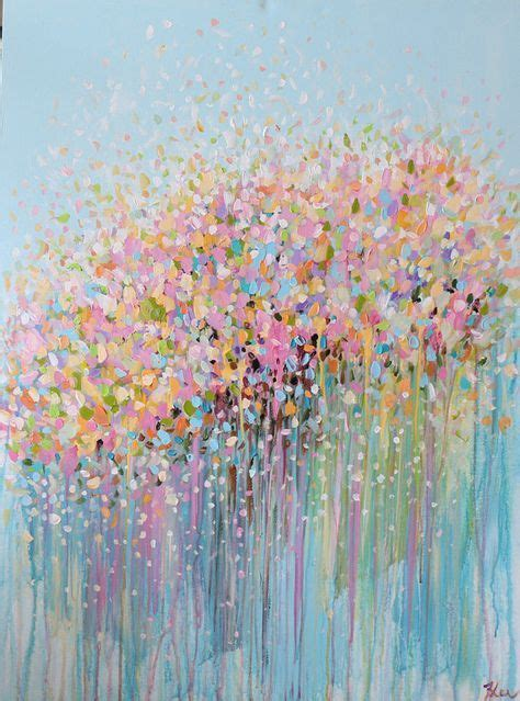 make flower painting best 20 abstract acrylic paintings ideas on