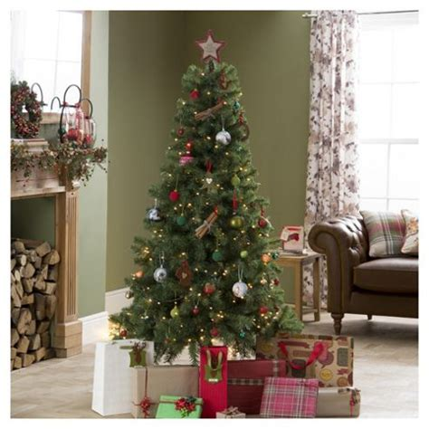 tree decorations tesco buy evergreen fir 6ft tree tesco from our
