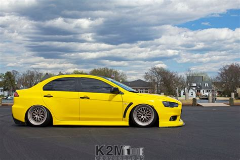 Wallpaper Car Yellow by Car Yellow Cars Mitsubishi Lancer Evo X Wallpapers Hd