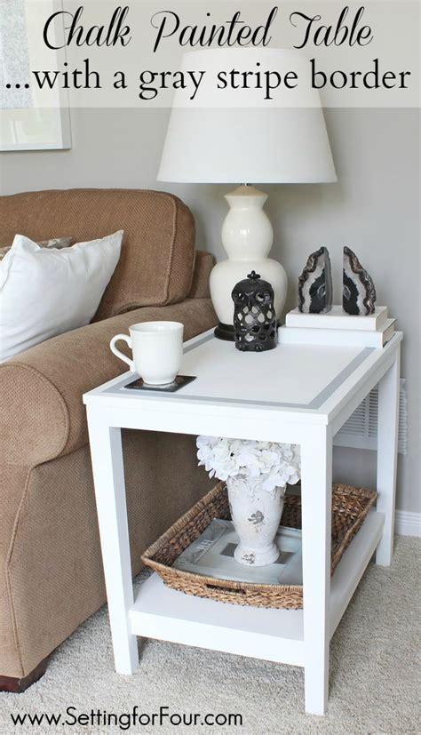 diy chalk paint on wood diy chalk paint table makeover diy home decor setting