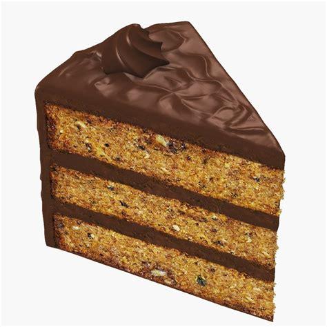slice of slice cake 3d model
