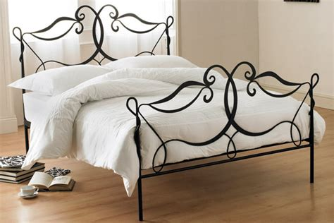 iron rod bed frame interior design tip for those of shabby chic