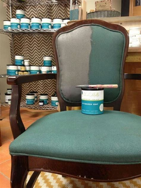 chalk paint upholstered chair best 25 chalk paint fabric ideas on paint
