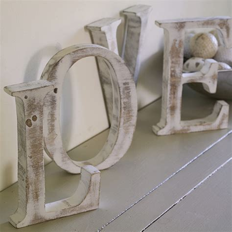 woodware shabby chic letters ancient wisdom drop
