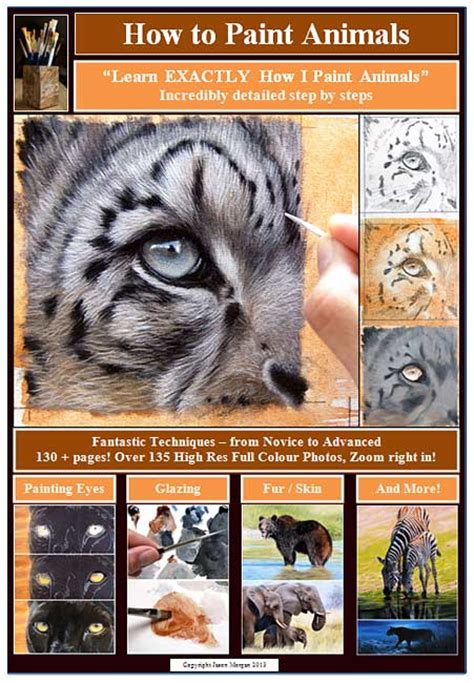 how to paint how to paint animals