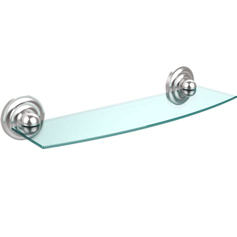 glass shelving bathroom prestige beveled glass bath shelf 18 inches in bathroom