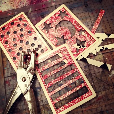 how to make a deck of cards 25 best ideas about card crafts on