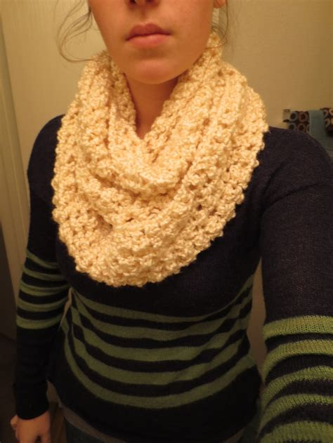 homespun yarn scarf pattern knit shiny infinity scarf brand homespun yarn