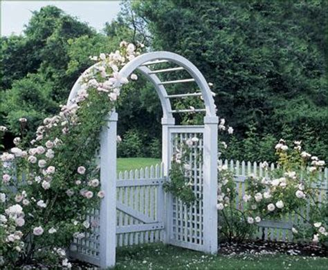 Garden Arbor With Gate Kit Add An Arbor