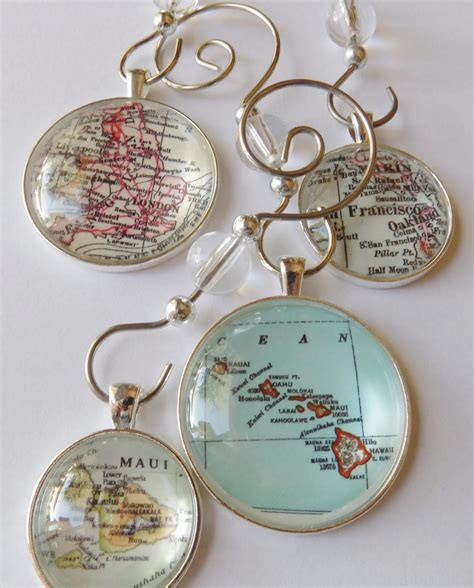 map ornaments custom map ornament charms map ornaments by