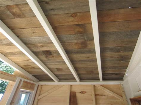 ideas wood ceiling planks for rustic home design plank